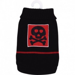 Jersey C/ Cranio Negro/ Rojo M