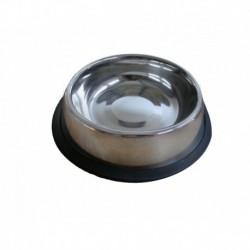 Comedero inox anti-deslizante 20.5cm