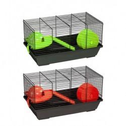 Jaula hamster 937 negra 50,5x28x21cm