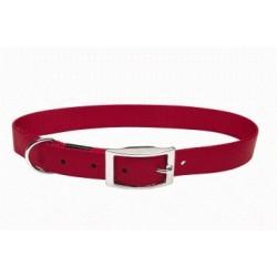 Collar nylon liso Rojo 19.1mmx51cm
