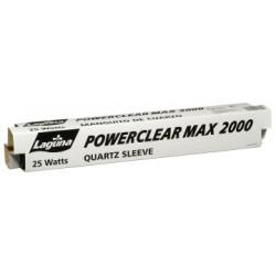 TUBO QUARTZ 25W P/UV 2000