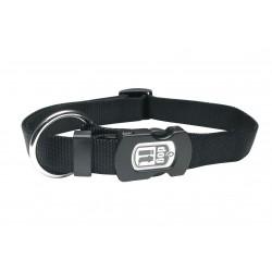 Collar nylon liso negro 10mmx25-40cm