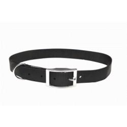 Collar nylon liso negro 10mmx30cm