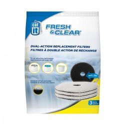 Filtro de espuma y carbon p/fuente