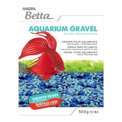 ARENA DECORATIVA P/BETTA AZUL 500 gr