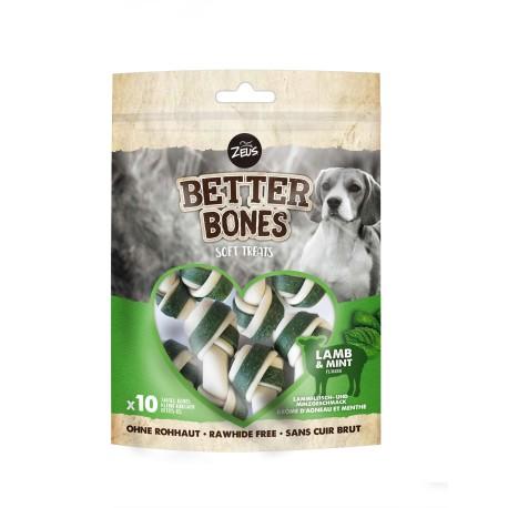 BETTER BONES HUESO CON CORDERO & MENTA 7.5CM   219G - 10UN