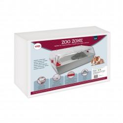 JAULA ZOOZONE GRIS   72x44,5x32,5cm